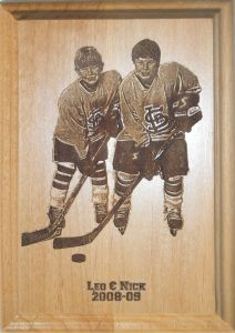 Hockey Plaque